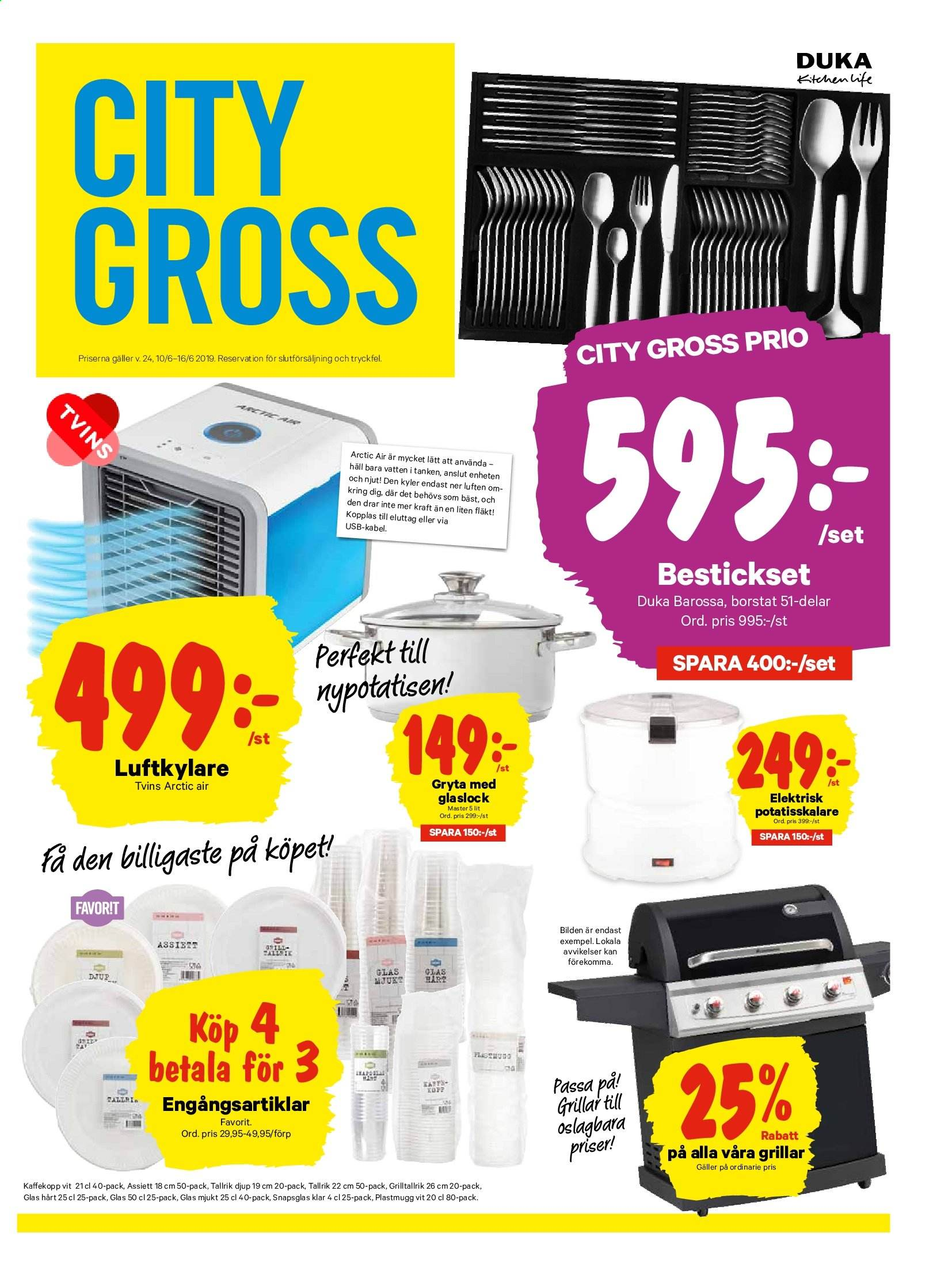 City Gross reklamblad - 10/6 2019 - 16/6 2019. Sida 12.