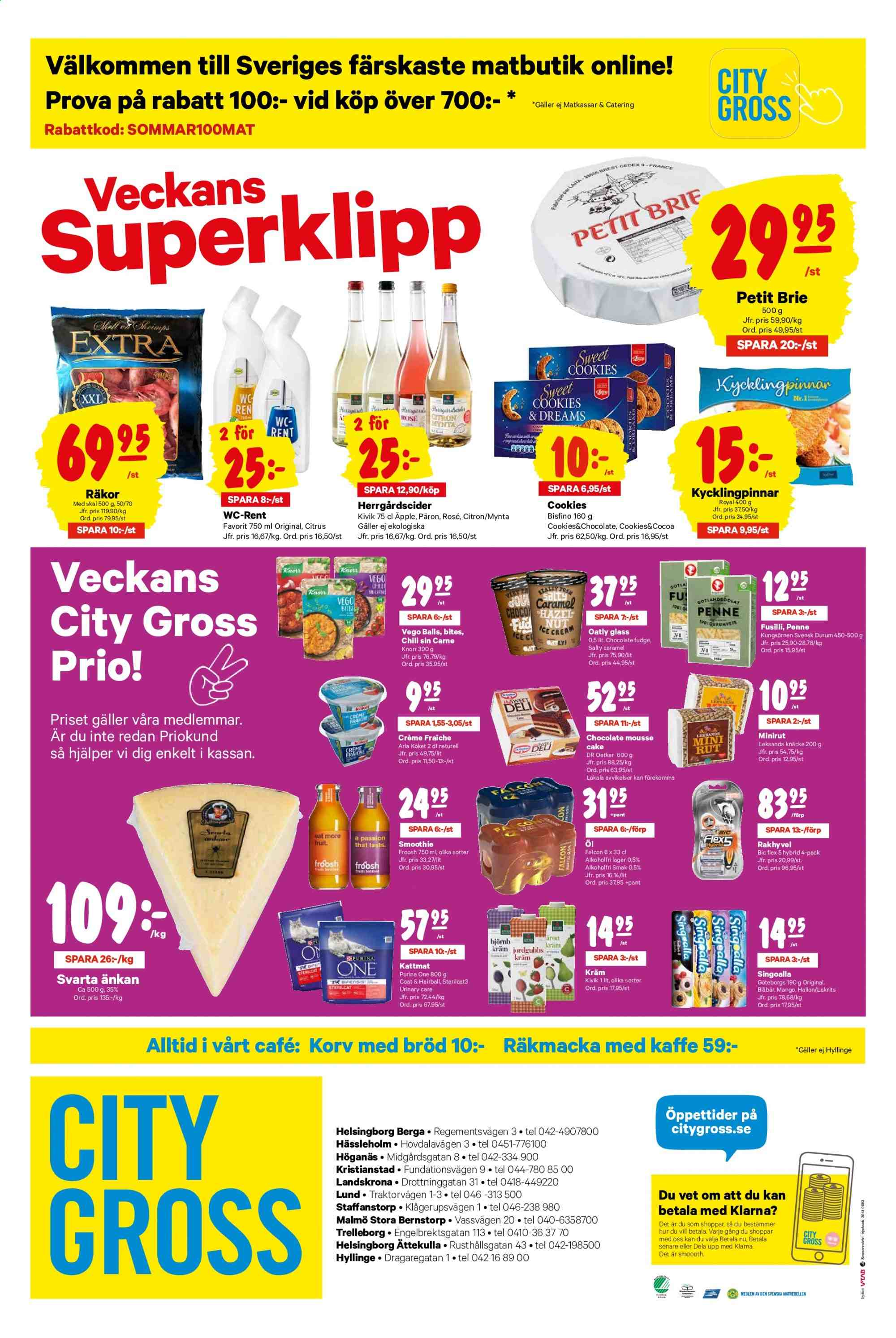 City Gross reklamblad - 24/6 2019 - 30/6 2019. Sida 12.