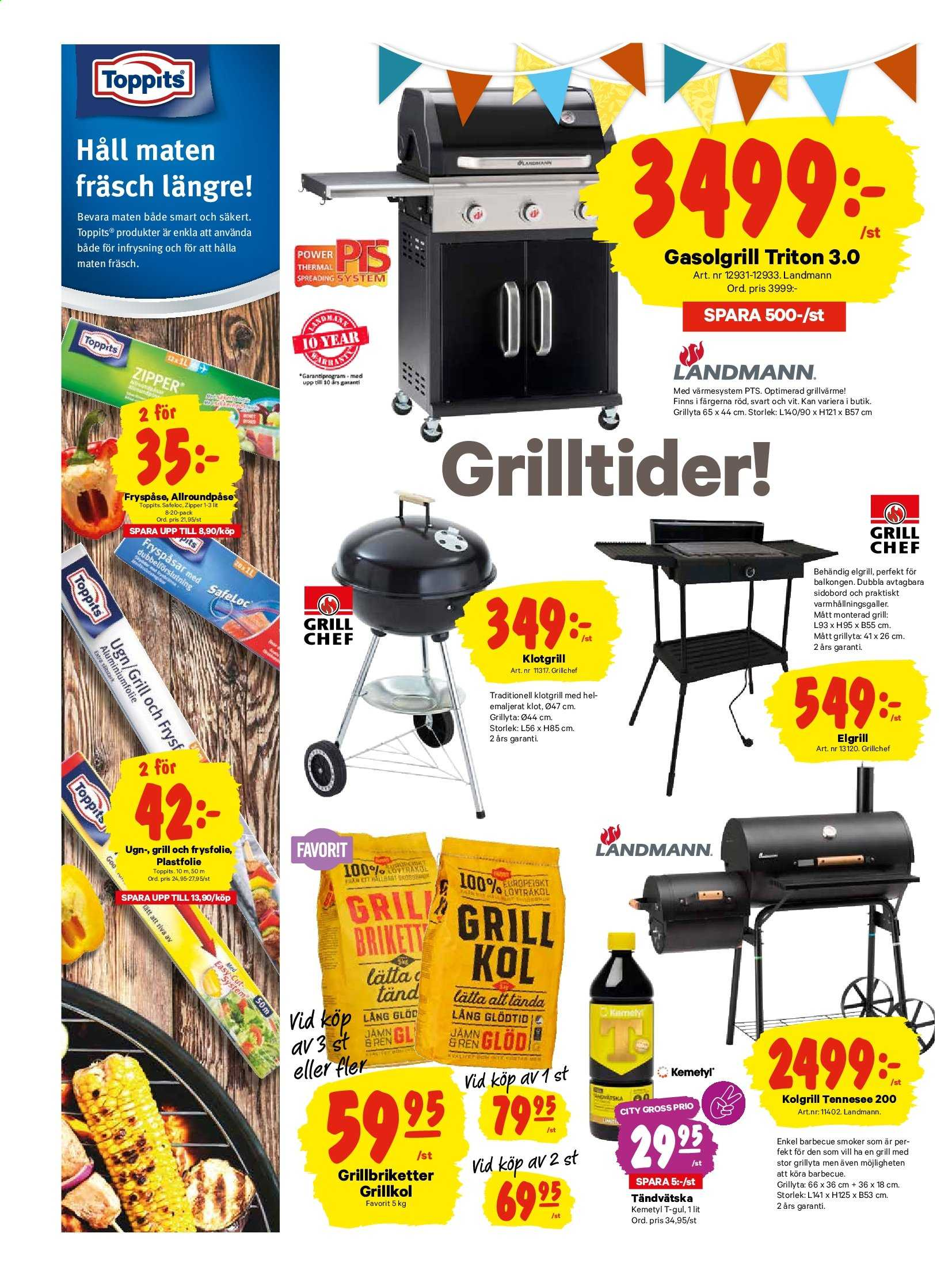City Gross reklamblad - 1/7 2019 - 7/7 2019. Sida 13.