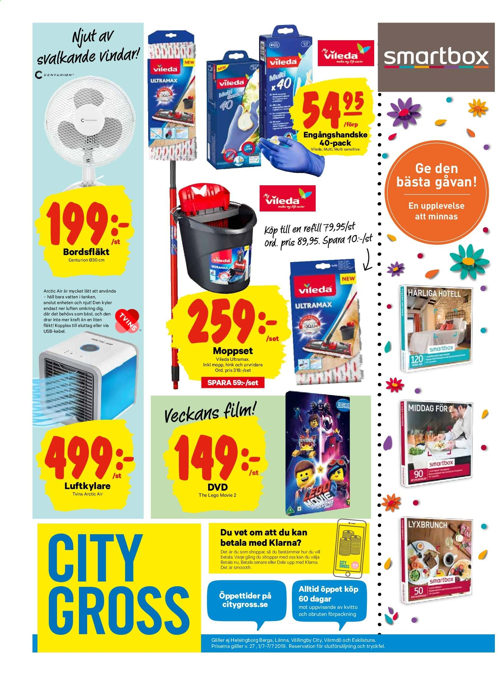 City Gross reklamblad - 1/7 2019 - 7/7 2019. Sida 15.