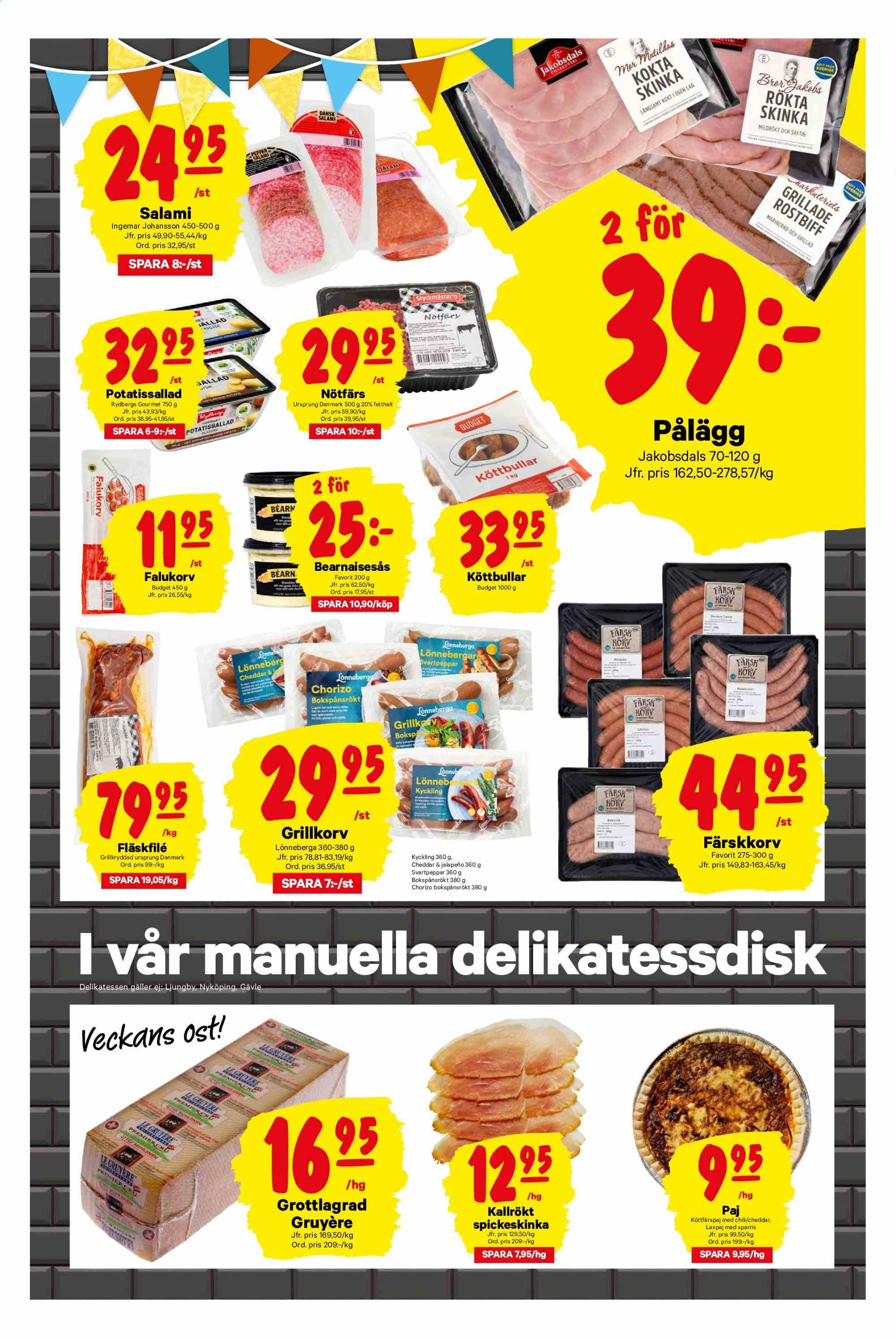 City Gross reklamblad - 8/7 2019 - 14/7 2019. Sida 3.