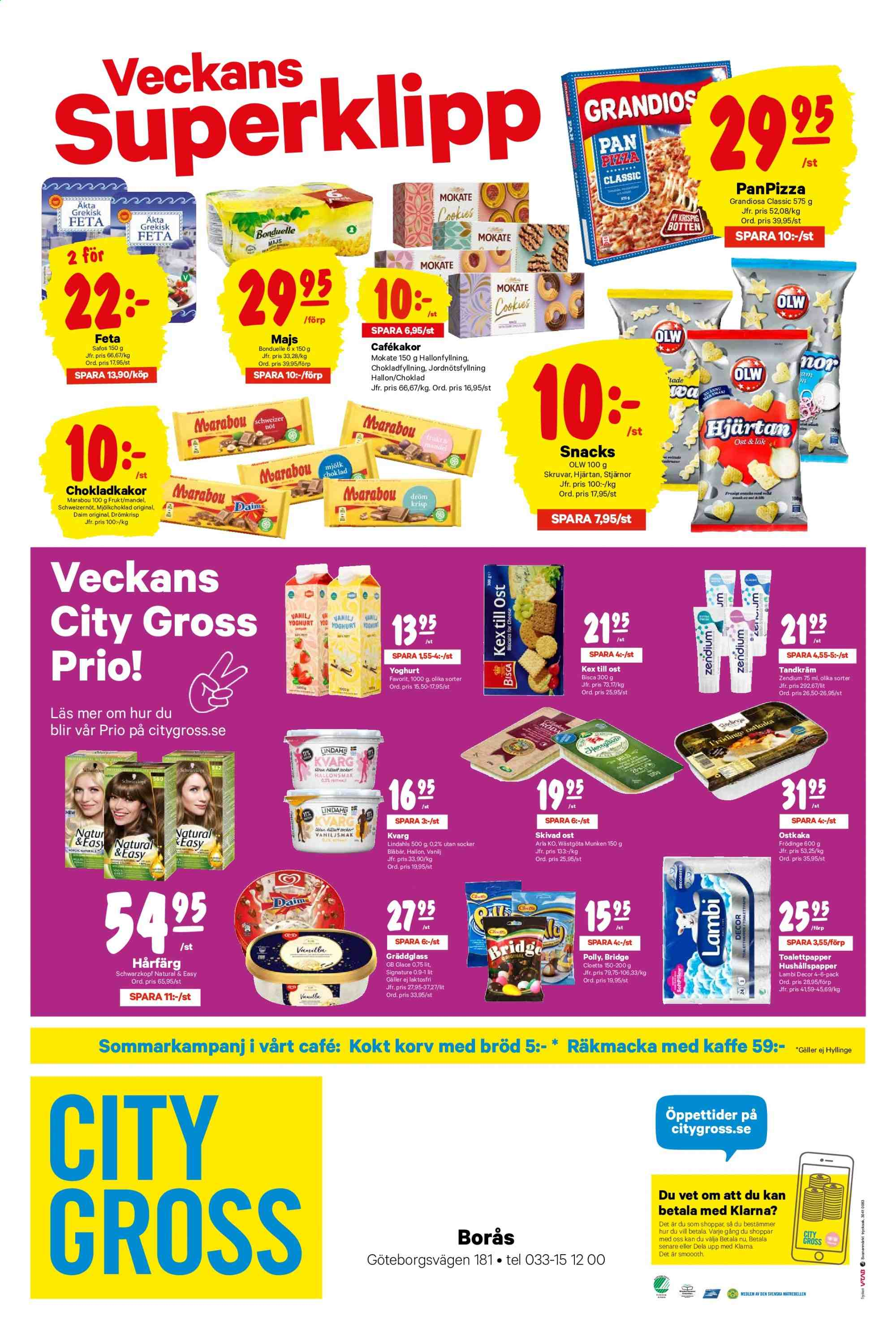 City Gross reklamblad - 8/7 2019 - 14/7 2019. Sida 12.