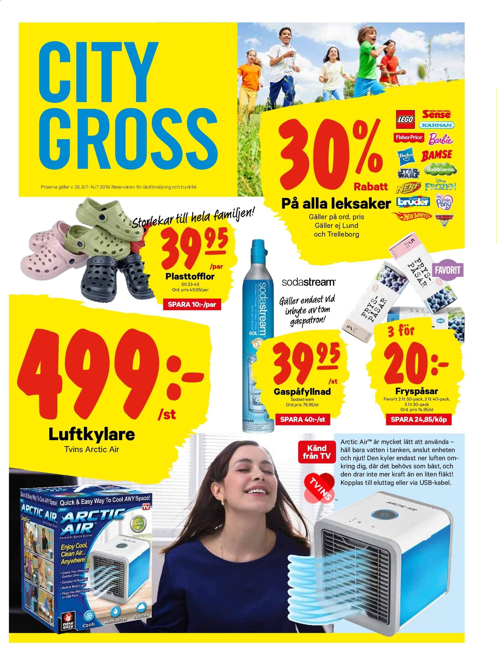 City Gross reklamblad - 8/7 2019 - 14/7 2019. Sida 13.