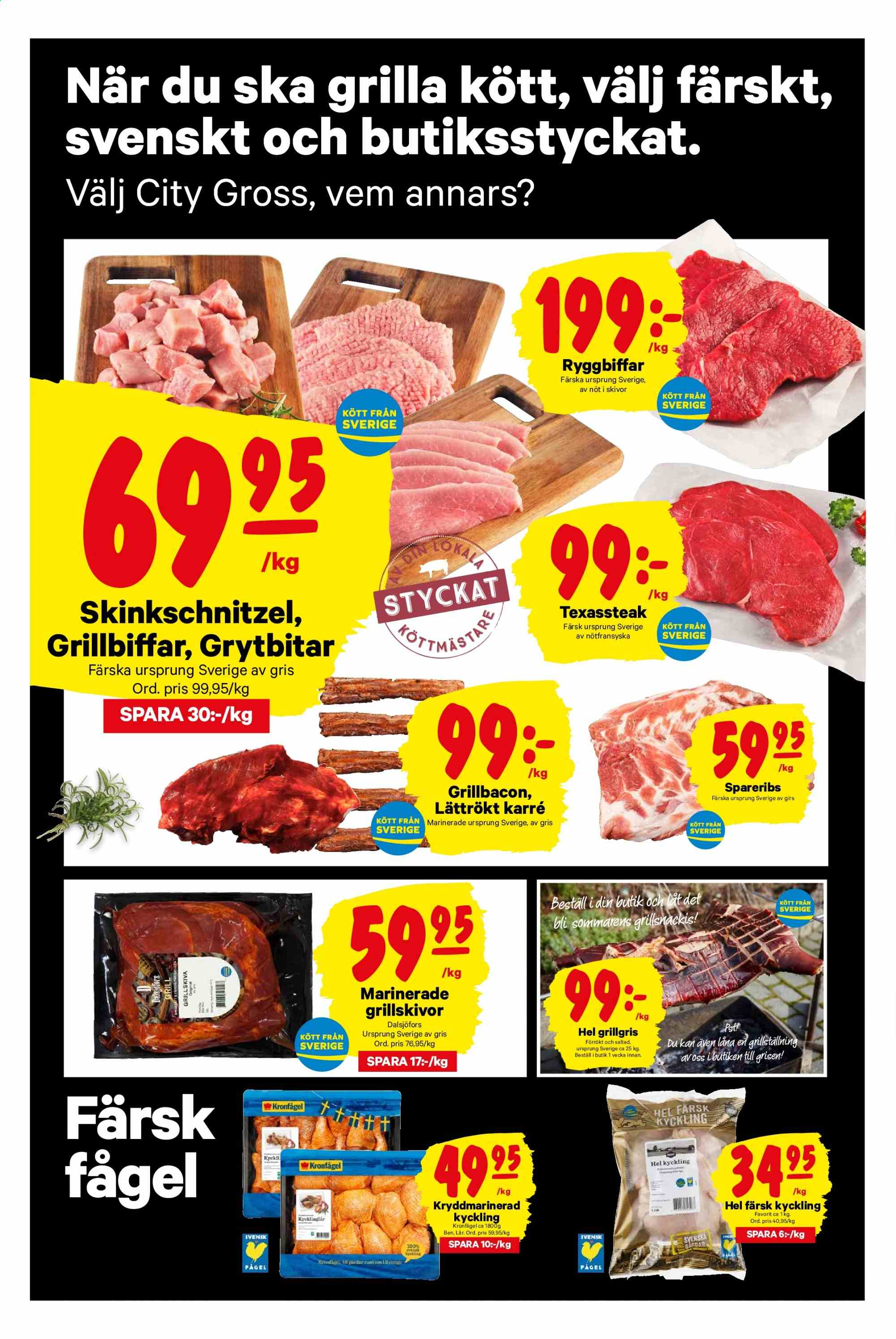 City Gross reklamblad - 15/7 2019 - 21/7 2019. Sida 2.
