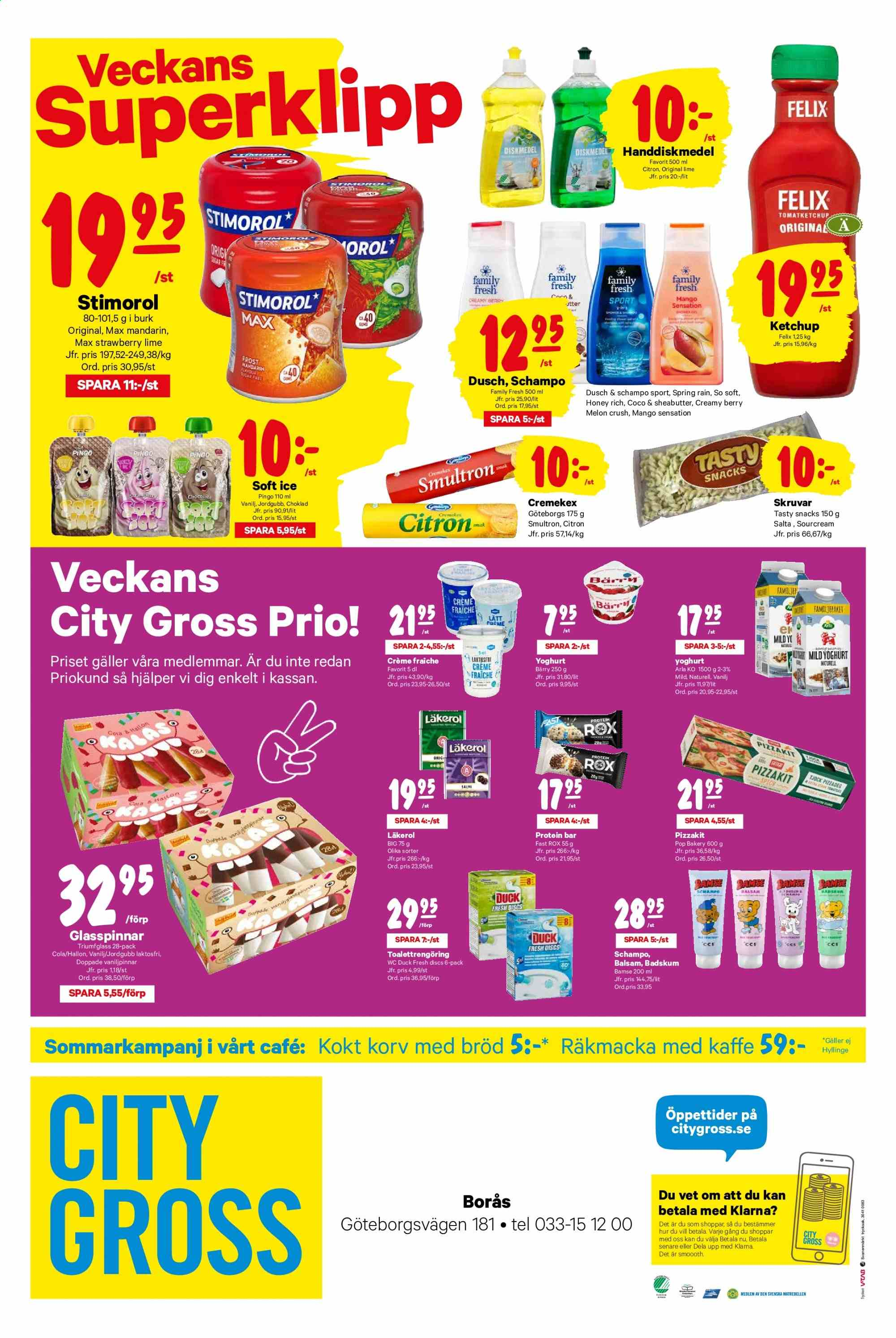 City Gross reklamblad - 15/7 2019 - 21/7 2019. Sida 12.