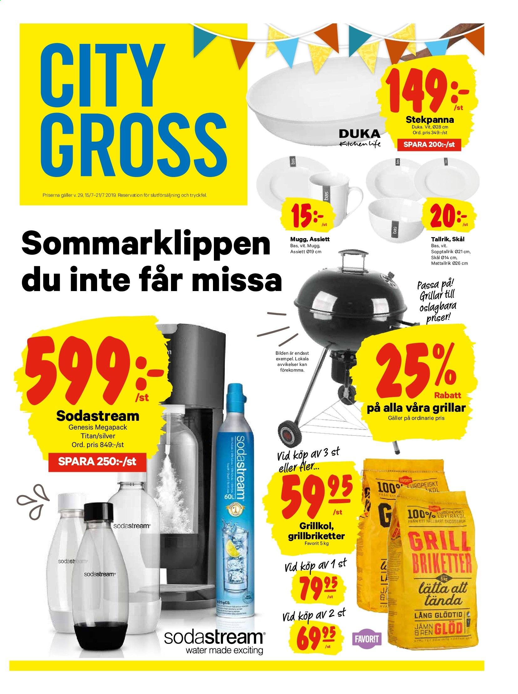City Gross reklamblad - 15/7 2019 - 21/7 2019. Sida 13.