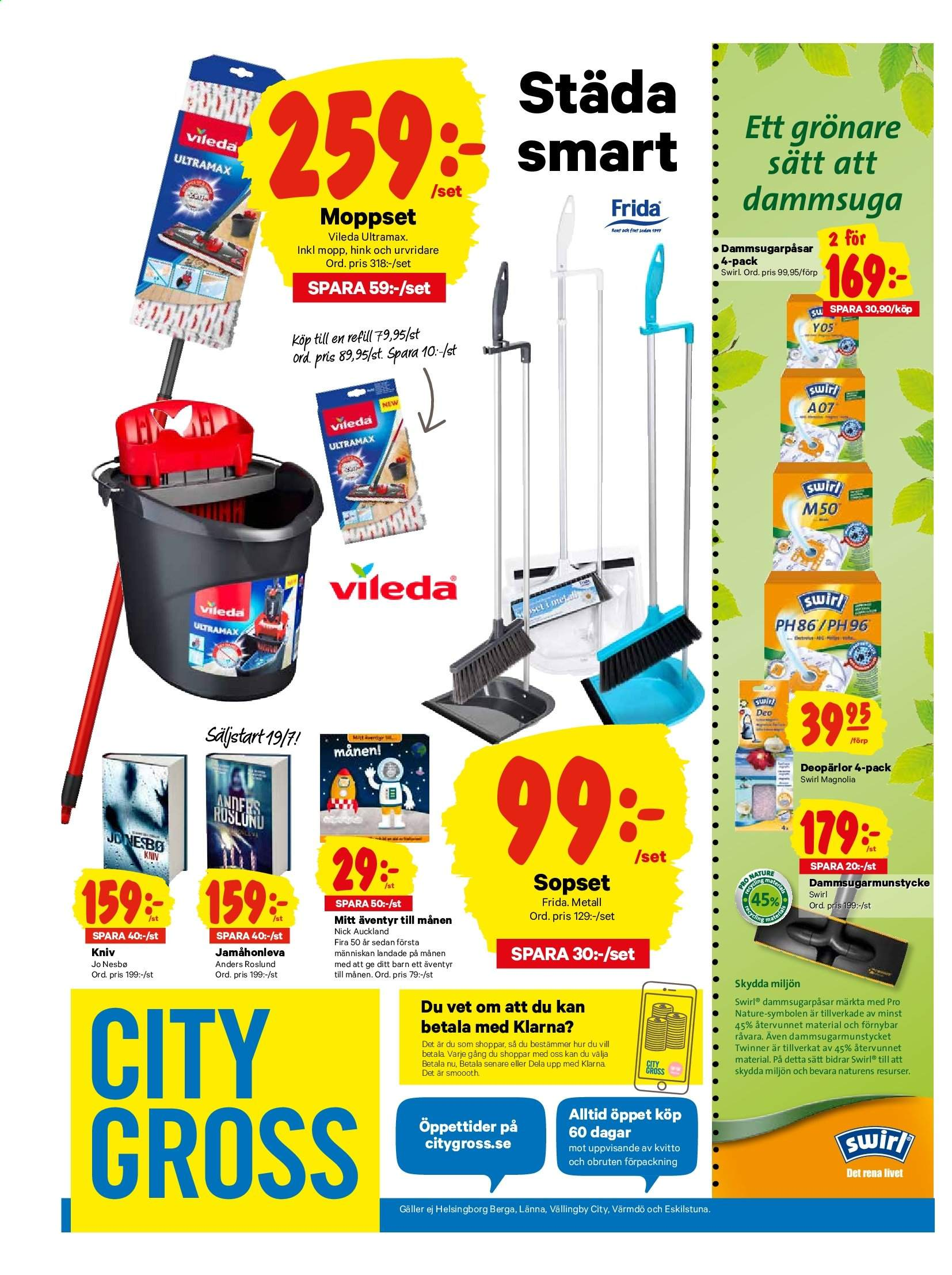 City Gross reklamblad - 15/7 2019 - 21/7 2019. Sida 16.