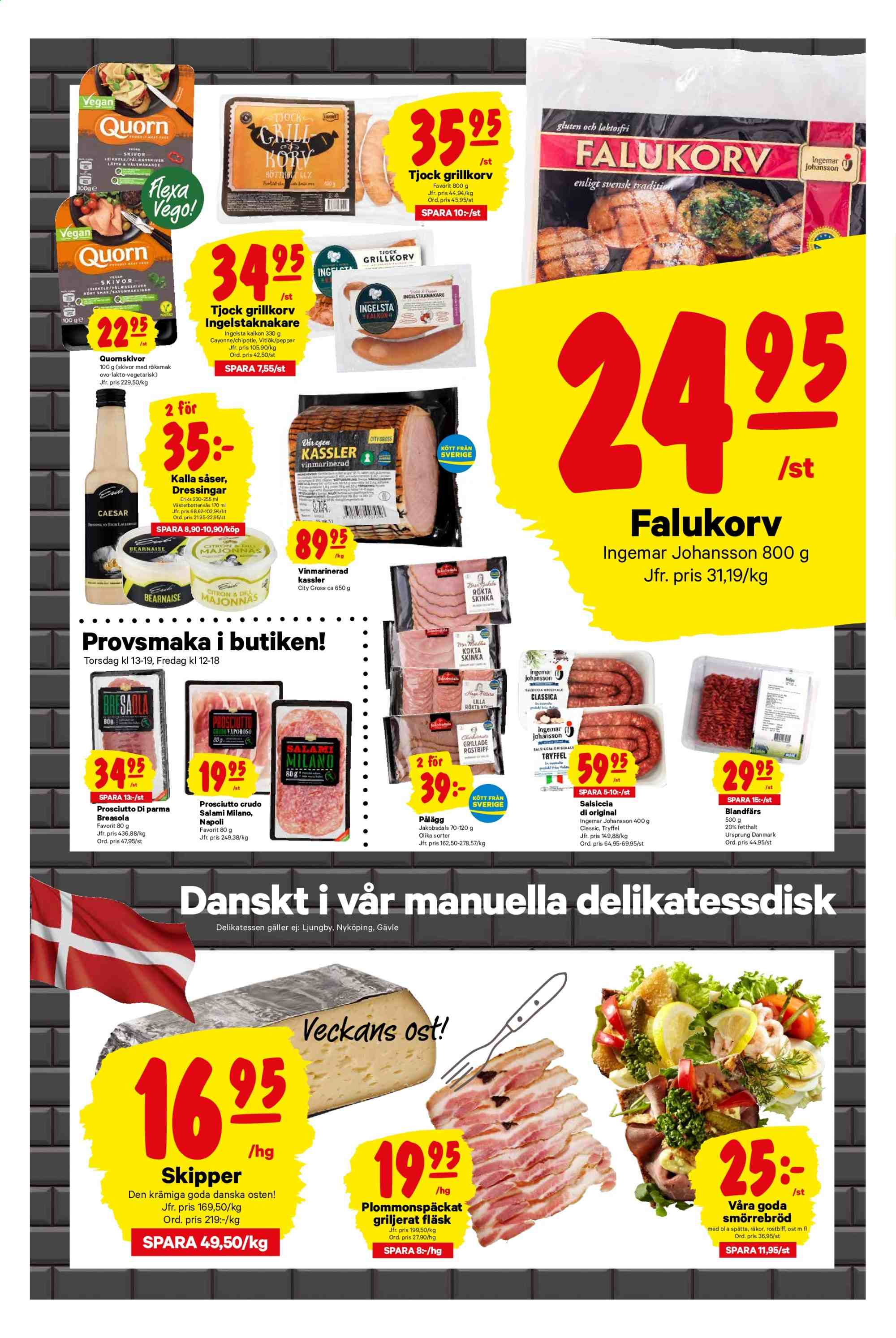 City Gross reklamblad - 22/7 2019 - 28/7 2019. Sida 3.