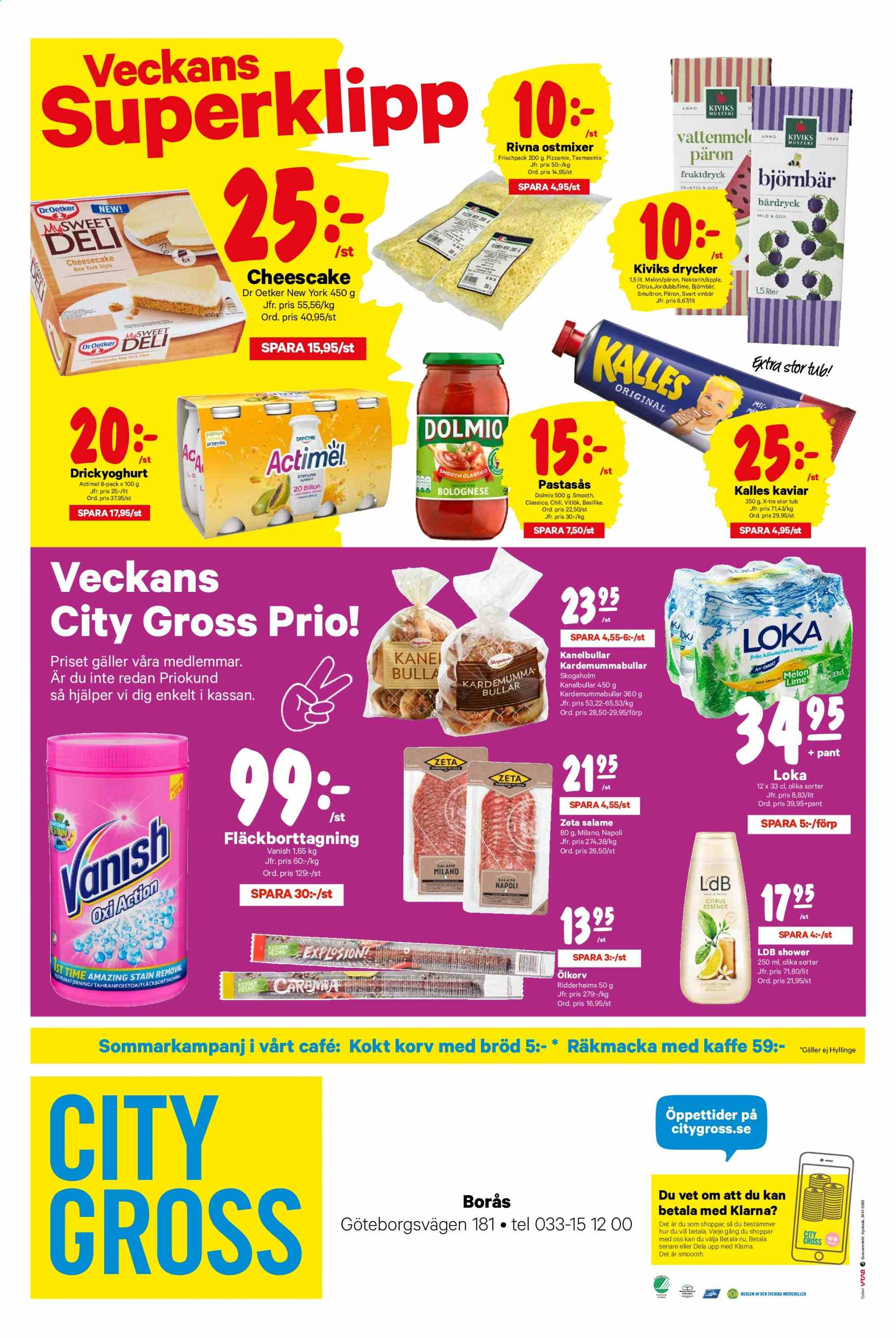City Gross reklamblad - 22/7 2019 - 28/7 2019. Sida 12.