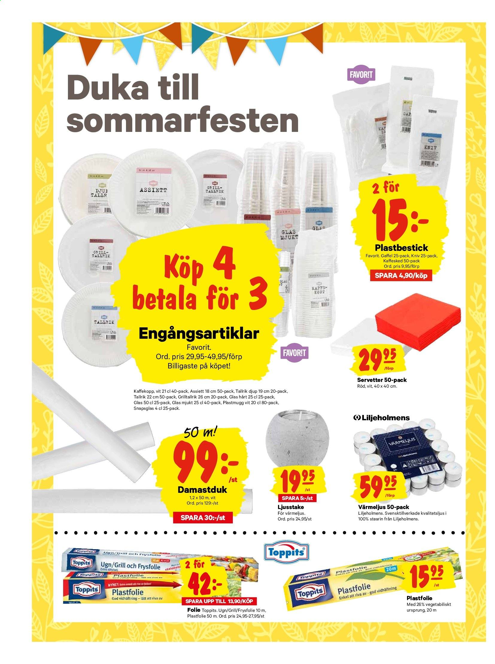 City Gross reklamblad - 22/7 2019 - 28/7 2019. Sida 14.