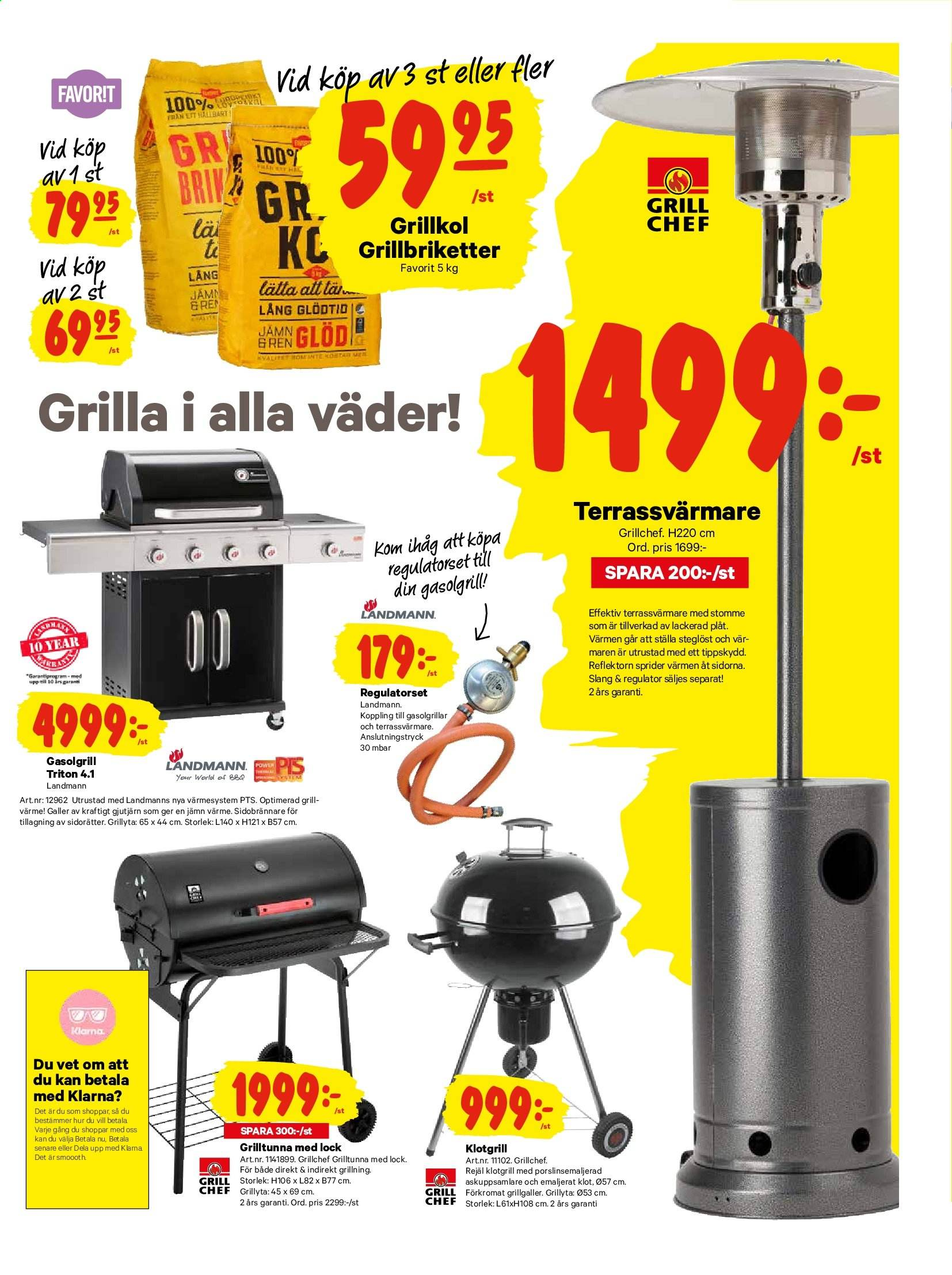 City Gross reklamblad - 22/7 2019 - 28/7 2019. Sida 17.