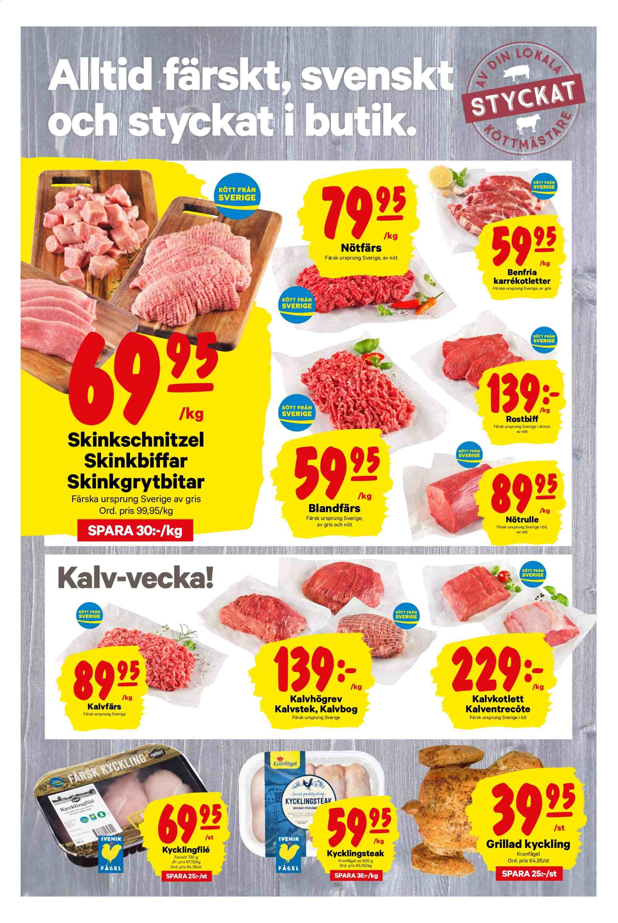 City Gross reklamblad - 30/9 2019 - 6/10 2019. Sida 2.