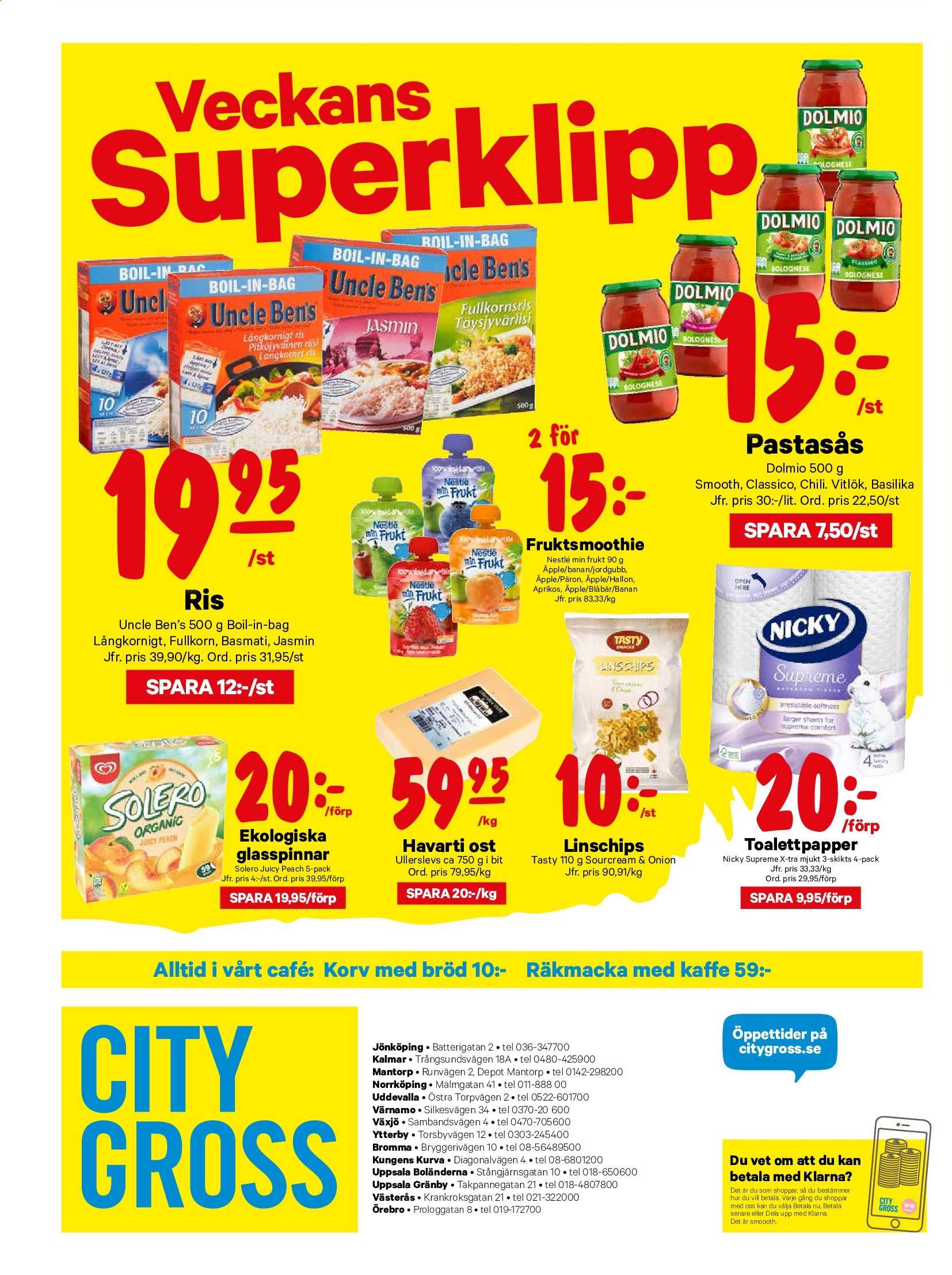 City Gross reklamblad - 28/10 2019 - 3/11 2019. Sida 16.