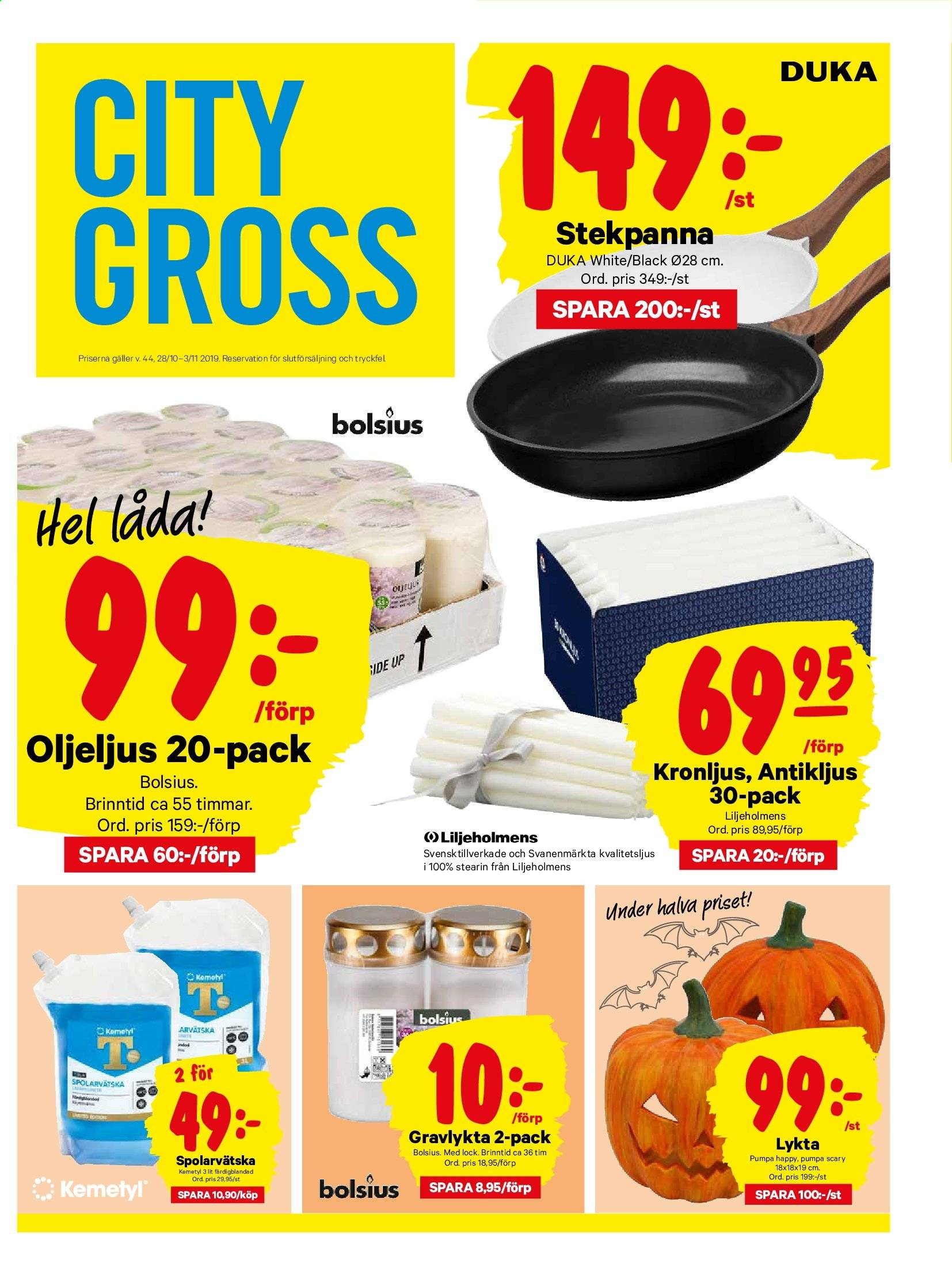 City Gross reklamblad - 28/10 2019 - 3/11 2019. Sida 17.