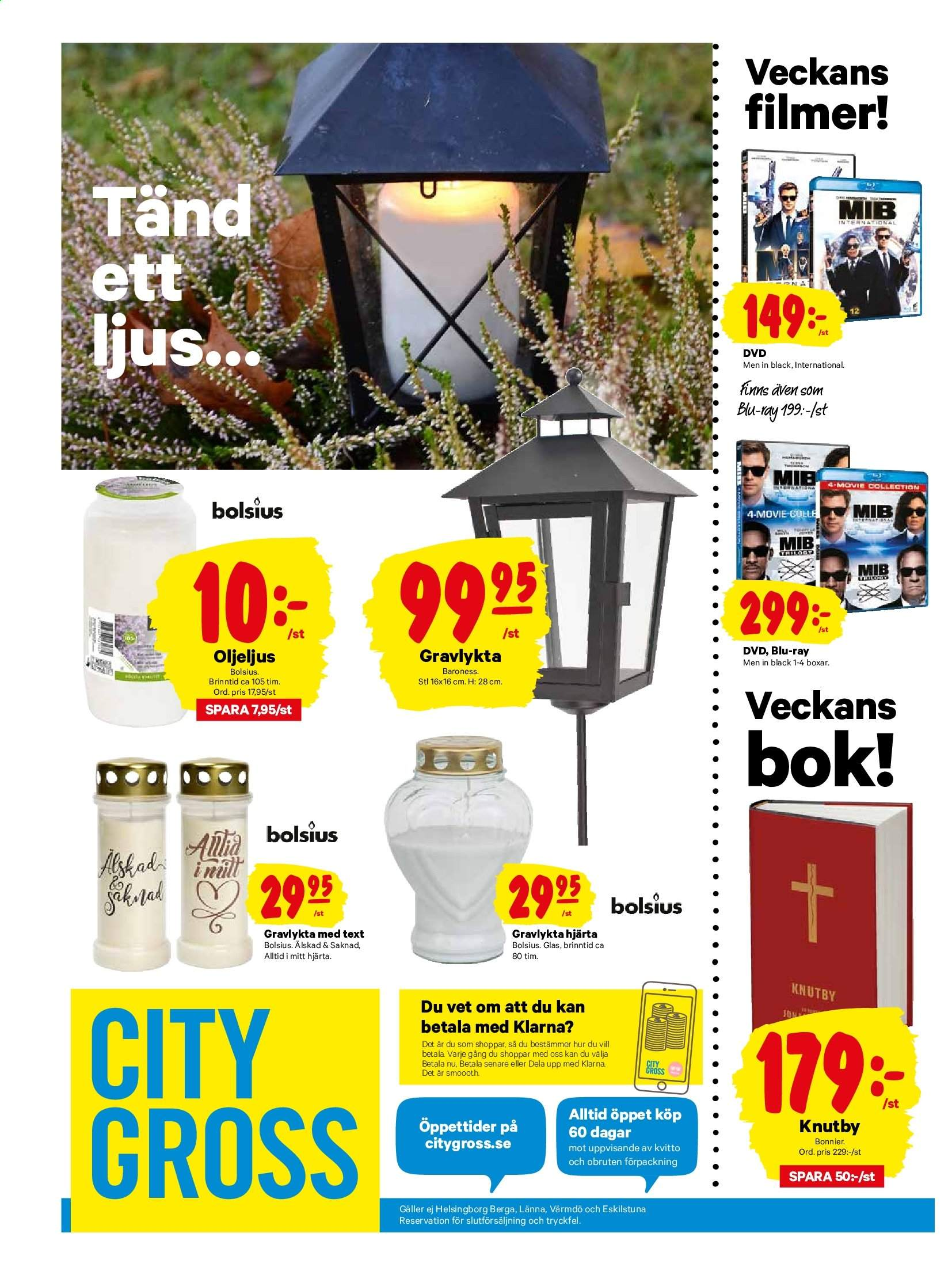 City Gross reklamblad - 28/10 2019 - 3/11 2019. Sida 24.