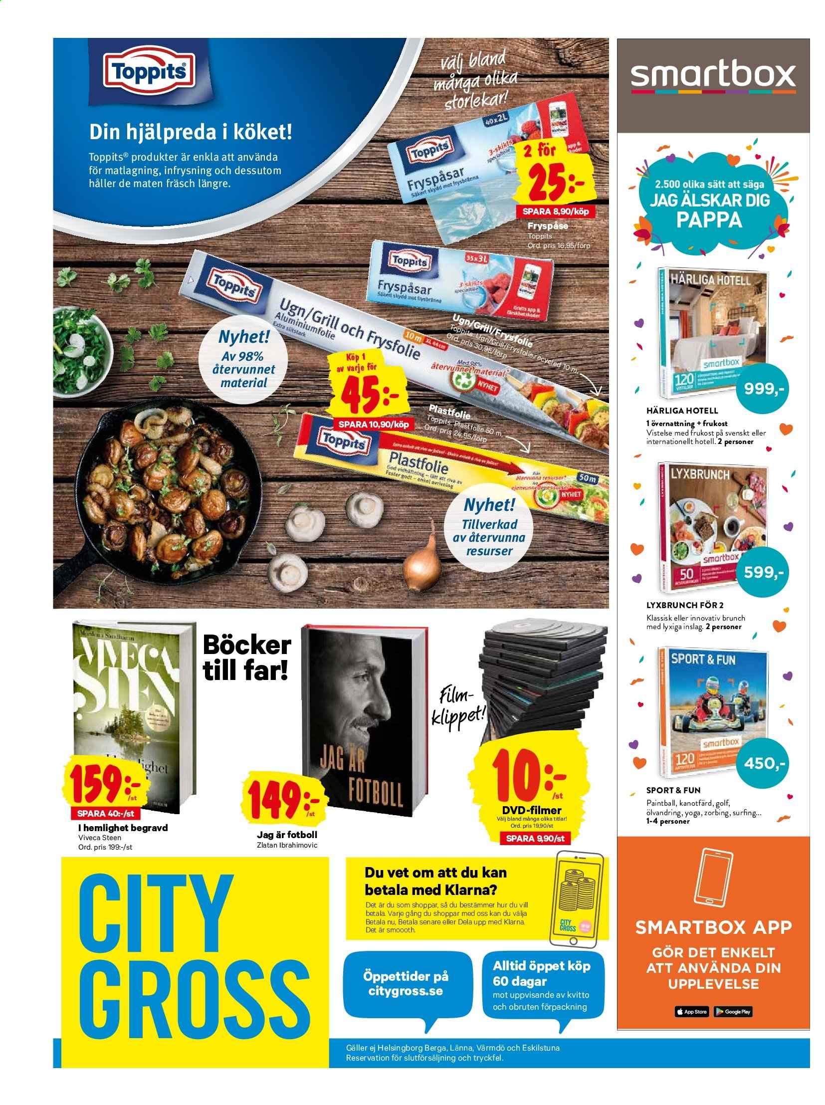 City Gross reklamblad - 4/11 2019 - 10/11 2019. Sida 15.