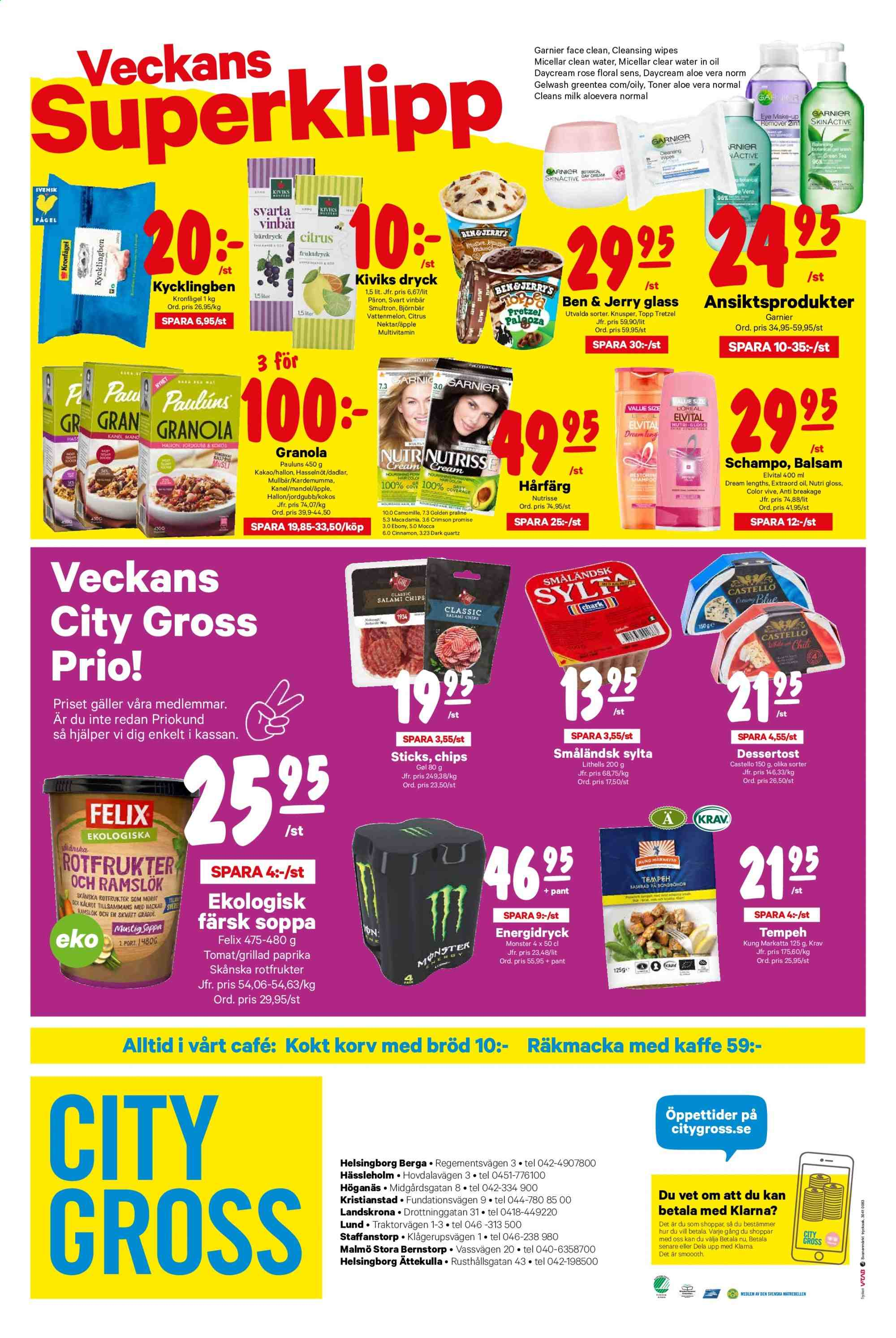 City Gross reklamblad - 4/11 2019 - 10/11 2019. Sida 16.