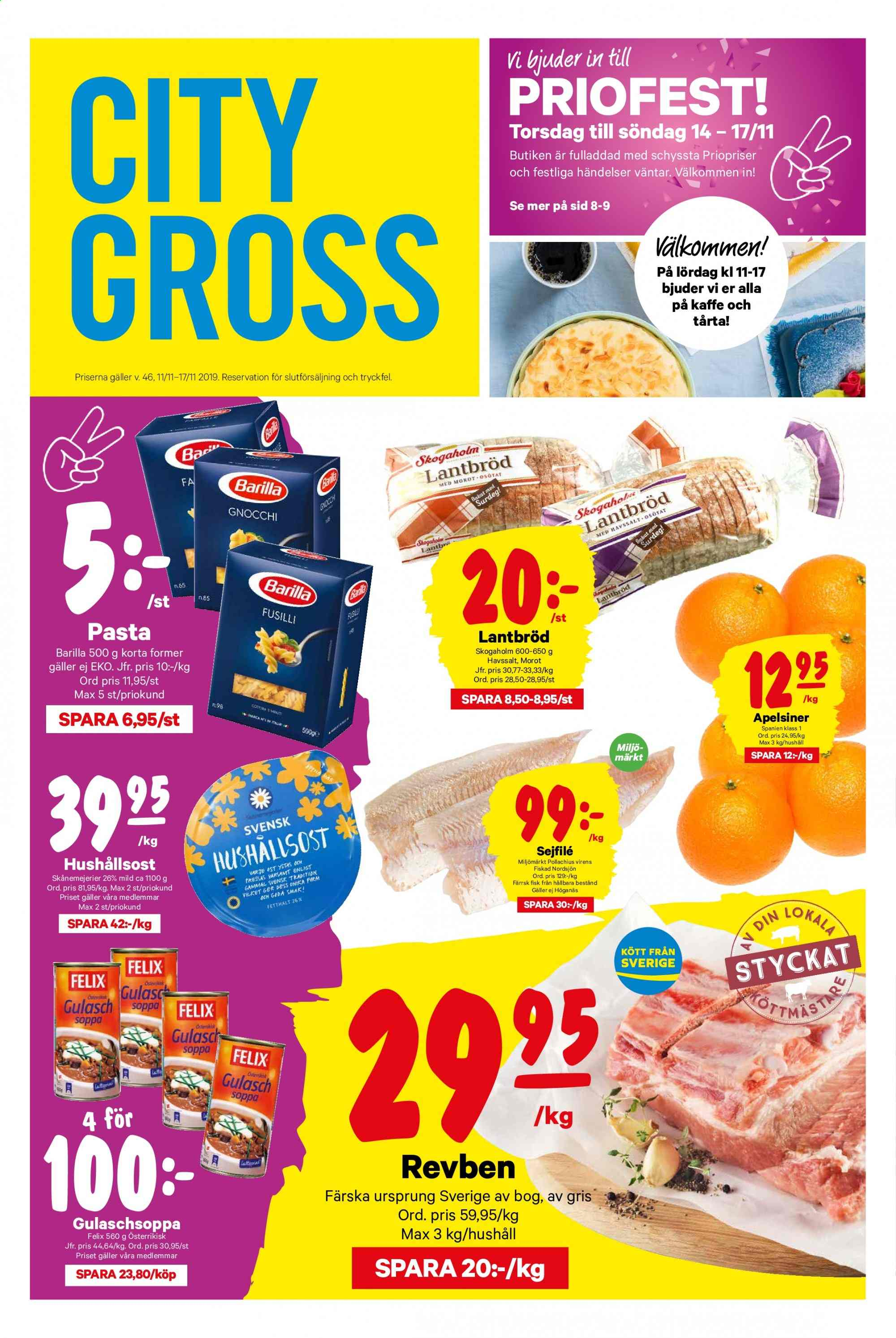 City Gross reklamblad - 11/11 2019 - 17/11 2019. Sida 1.