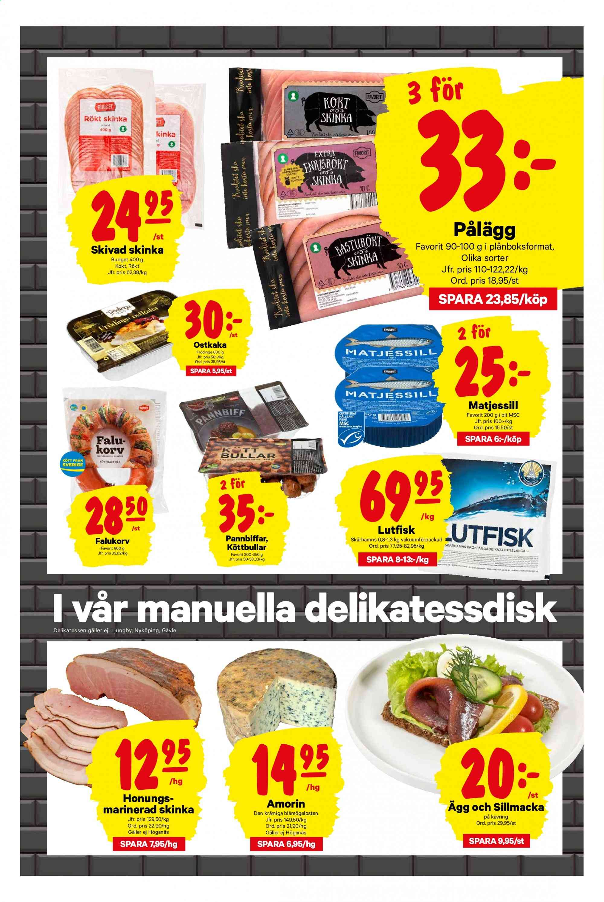 City Gross reklamblad - 11/11 2019 - 17/11 2019. Sida 3.