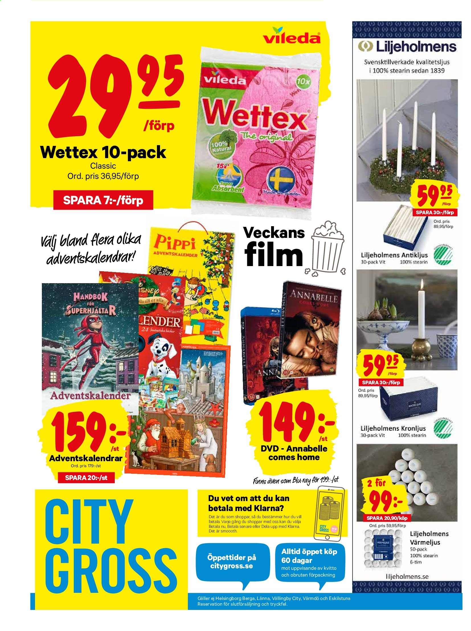 City Gross reklamblad - 11/11 2019 - 17/11 2019. Sida 17.