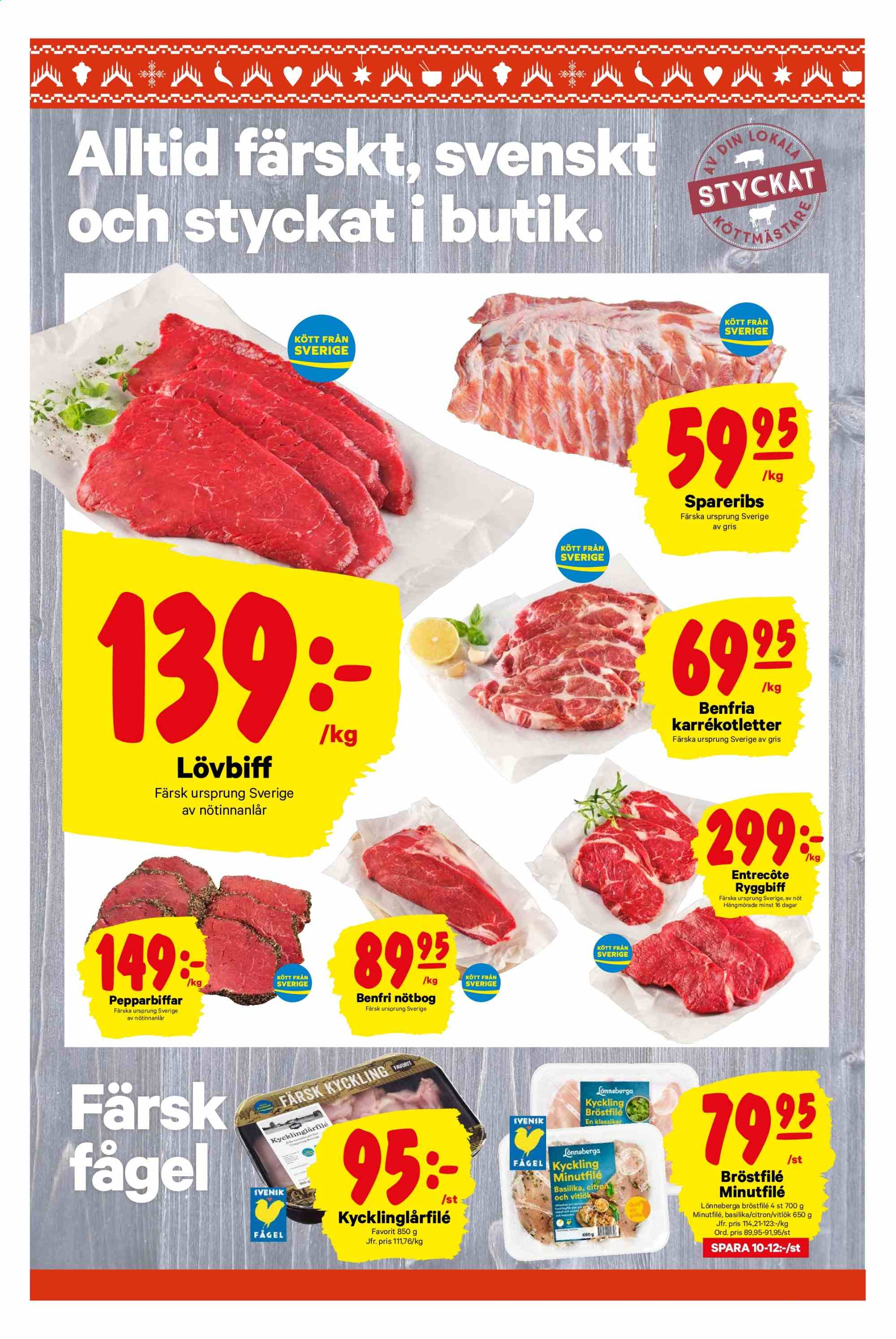 City Gross reklamblad - 25/11 2019 - 1/12 2019. Sida 2.