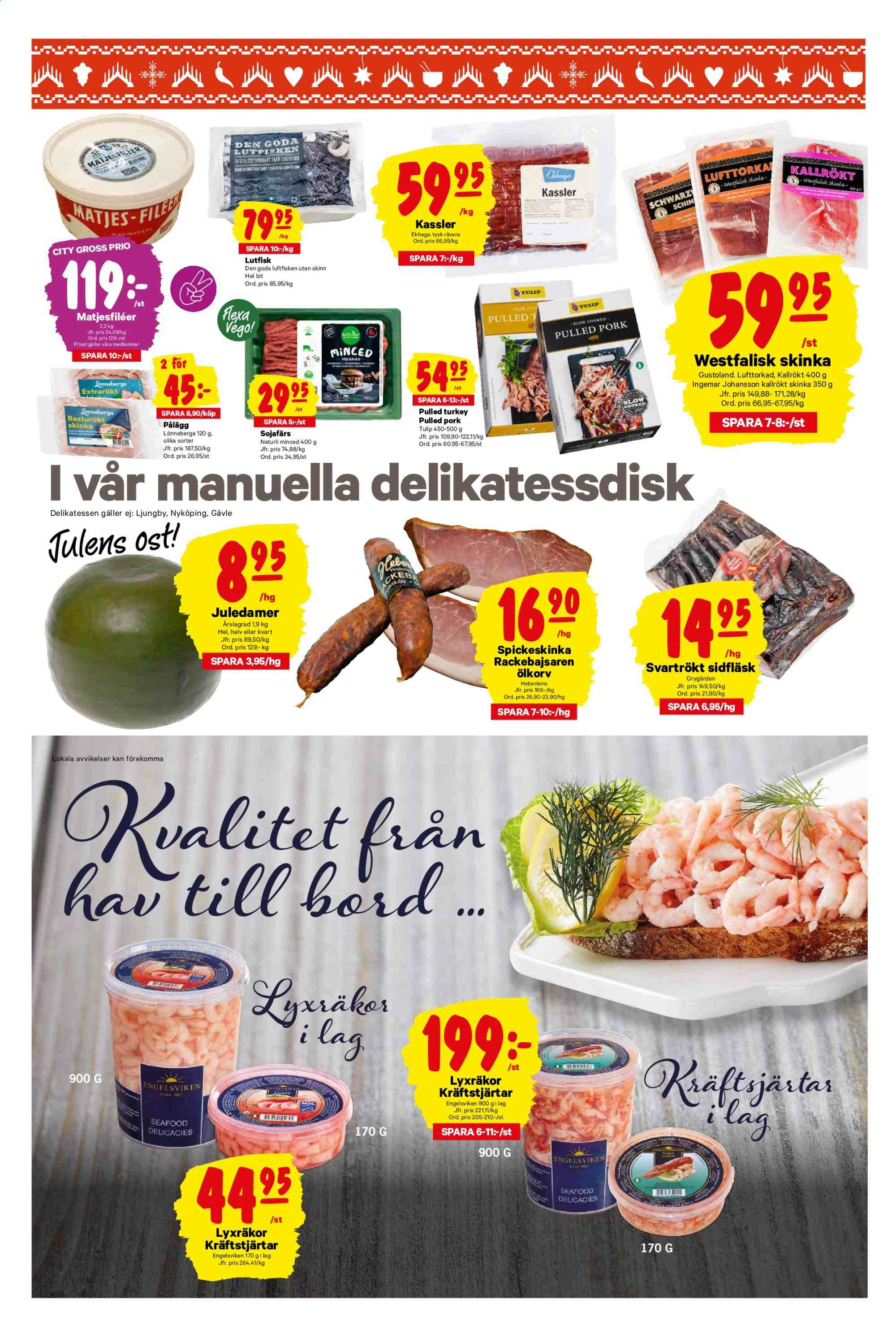 City Gross reklamblad - 25/11 2019 - 1/12 2019. Sida 3.