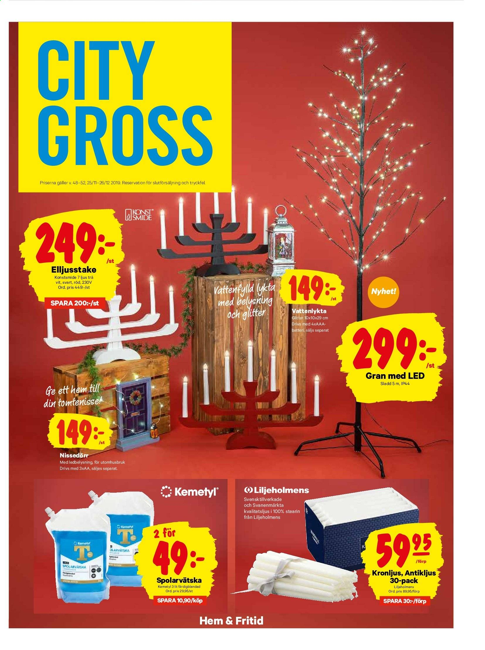 City Gross reklamblad - 25/11 2019 - 1/12 2019. Sida 14.