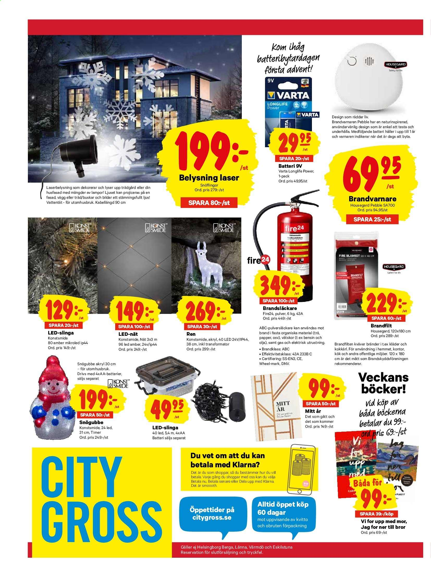 City Gross reklamblad - 25/11 2019 - 1/12 2019. Sida 21.