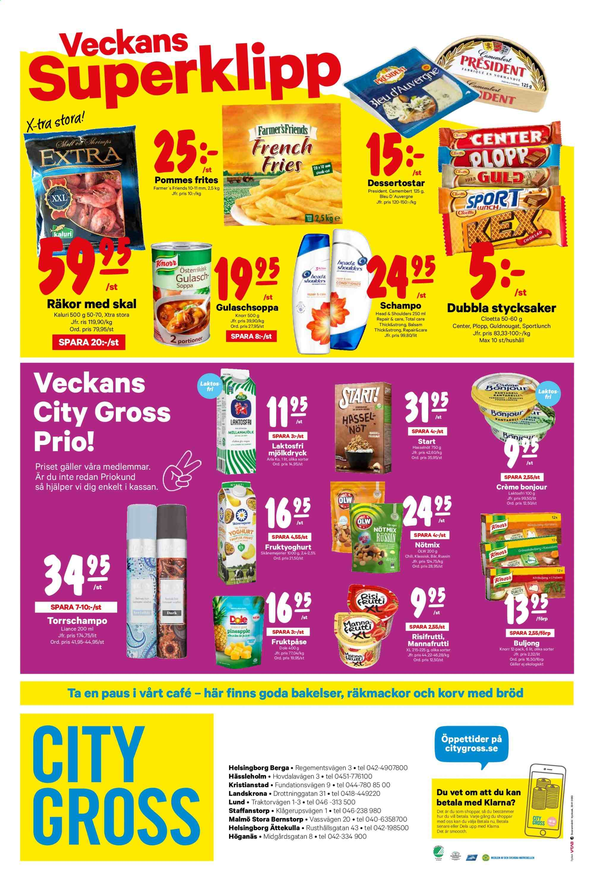 City Gross reklamblad - 25/11 2019 - 1/12 2019. Sida 22.