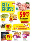 City Gross reklamblad