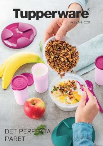 Tupperware reklamblad - 8/2 2021 - 7/3 2021.