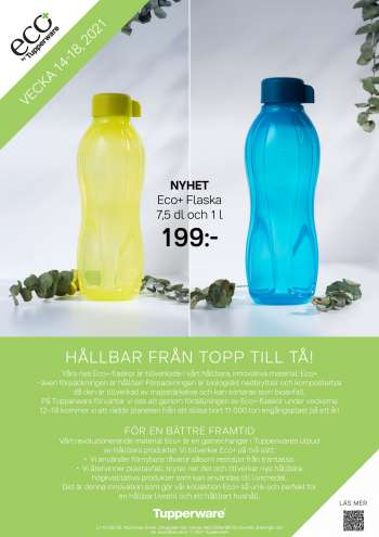 Tupperware reklamblad - 5/4 2021 - 9/5 2021.