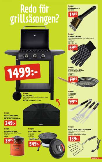 Jem & Fix reklamblad - 19/4 2021 - 25/4 2021.