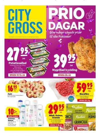 City Gross reklamblad - 19/4 2021 - 25/4 2021.
