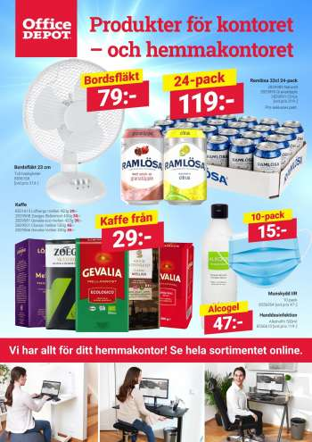 Office Depot reklamblad - 1/5 2021 - 31/5 2021.