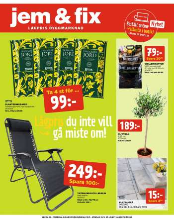 Jem & Fix reklamblad - 10/5 2021 - 16/5 2021.