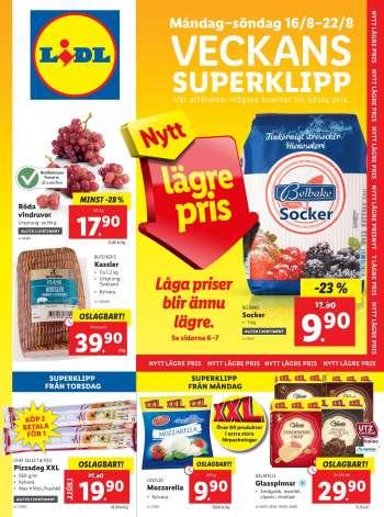 Lidl Köping Öppettider