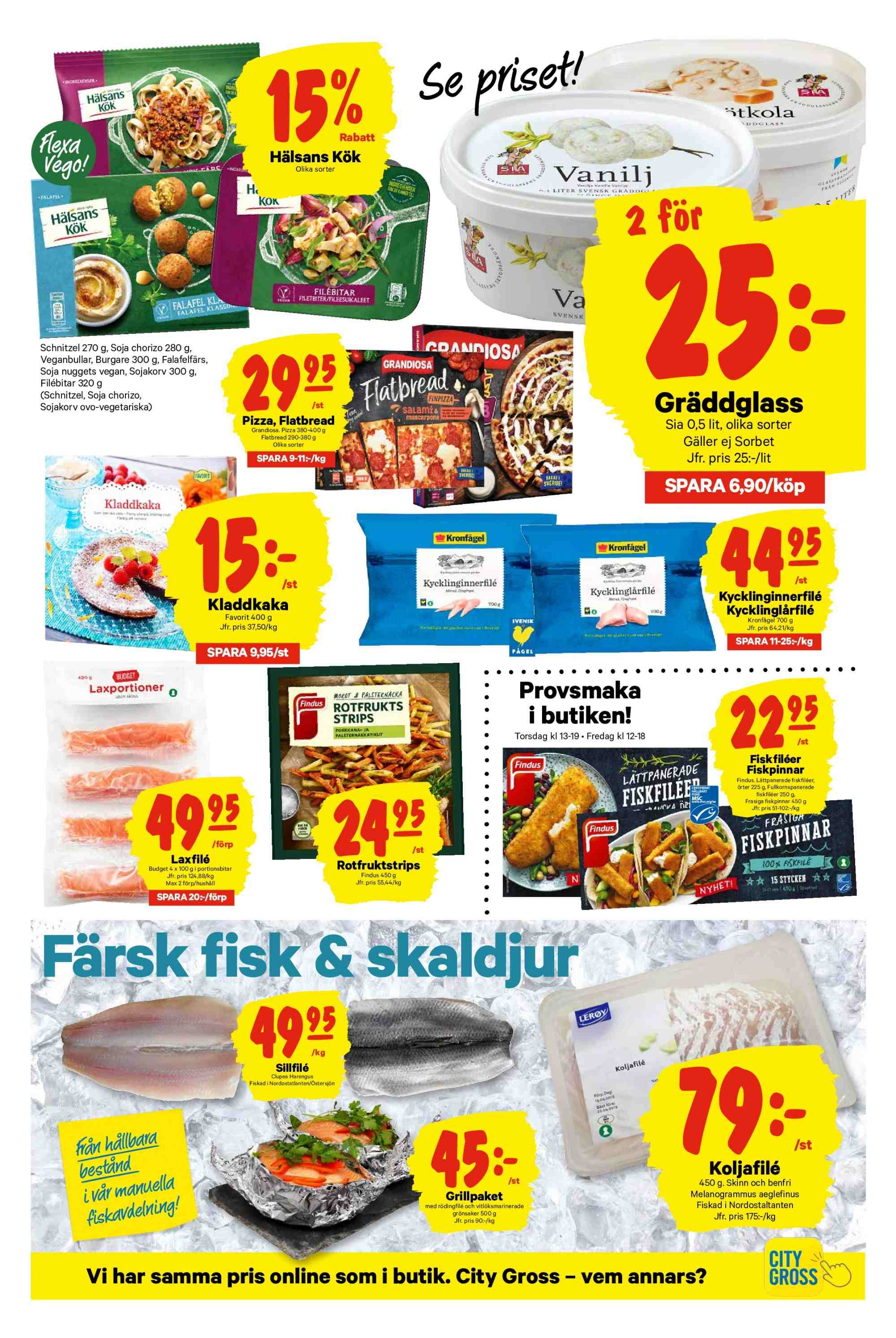 City Gross reklamblad - 4/2 2019 - 10/2 2019. Sida 11.