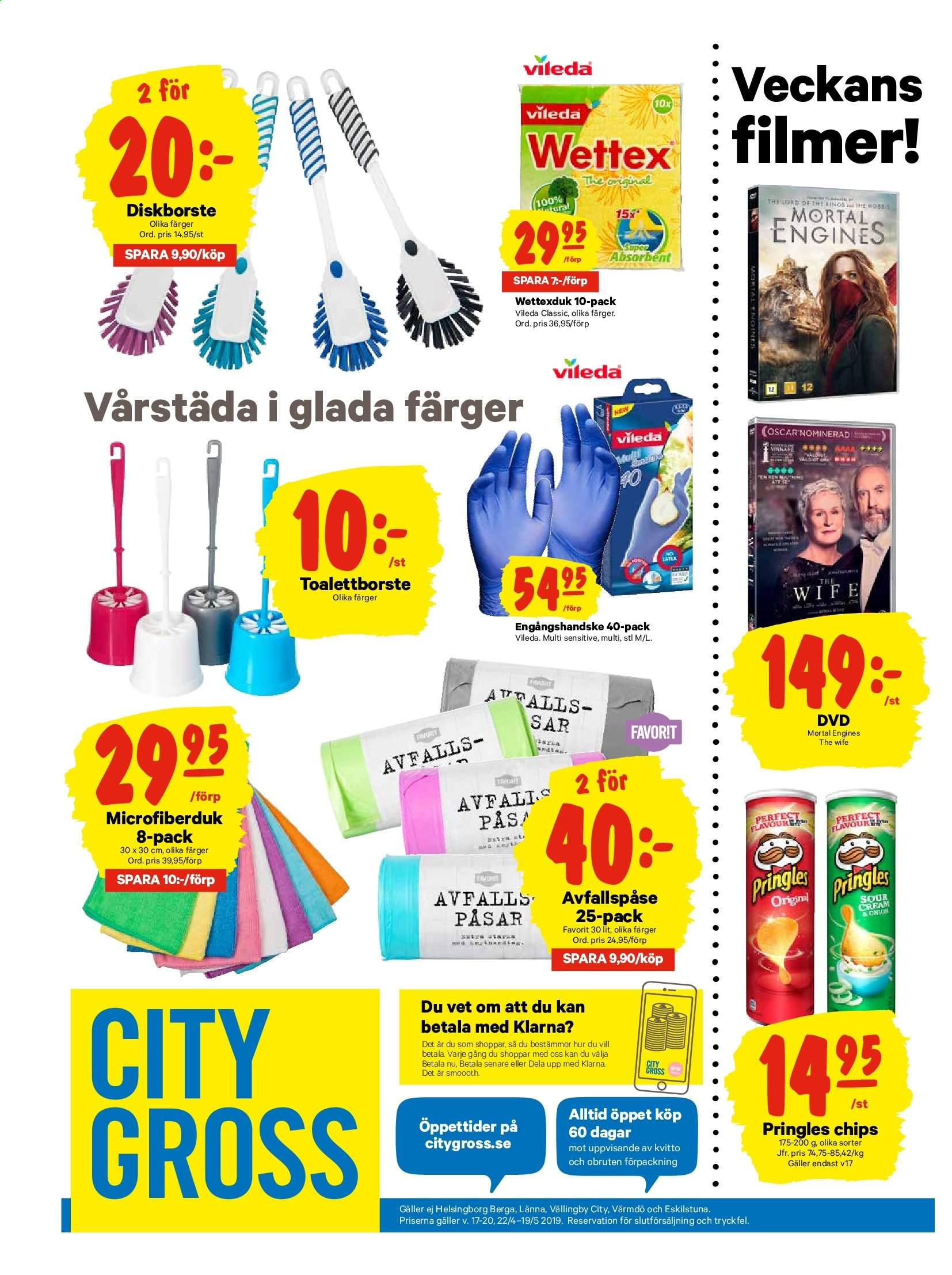 City Gross reklamblad - 23/4 2019 - 28/4 2019. Sida 20.