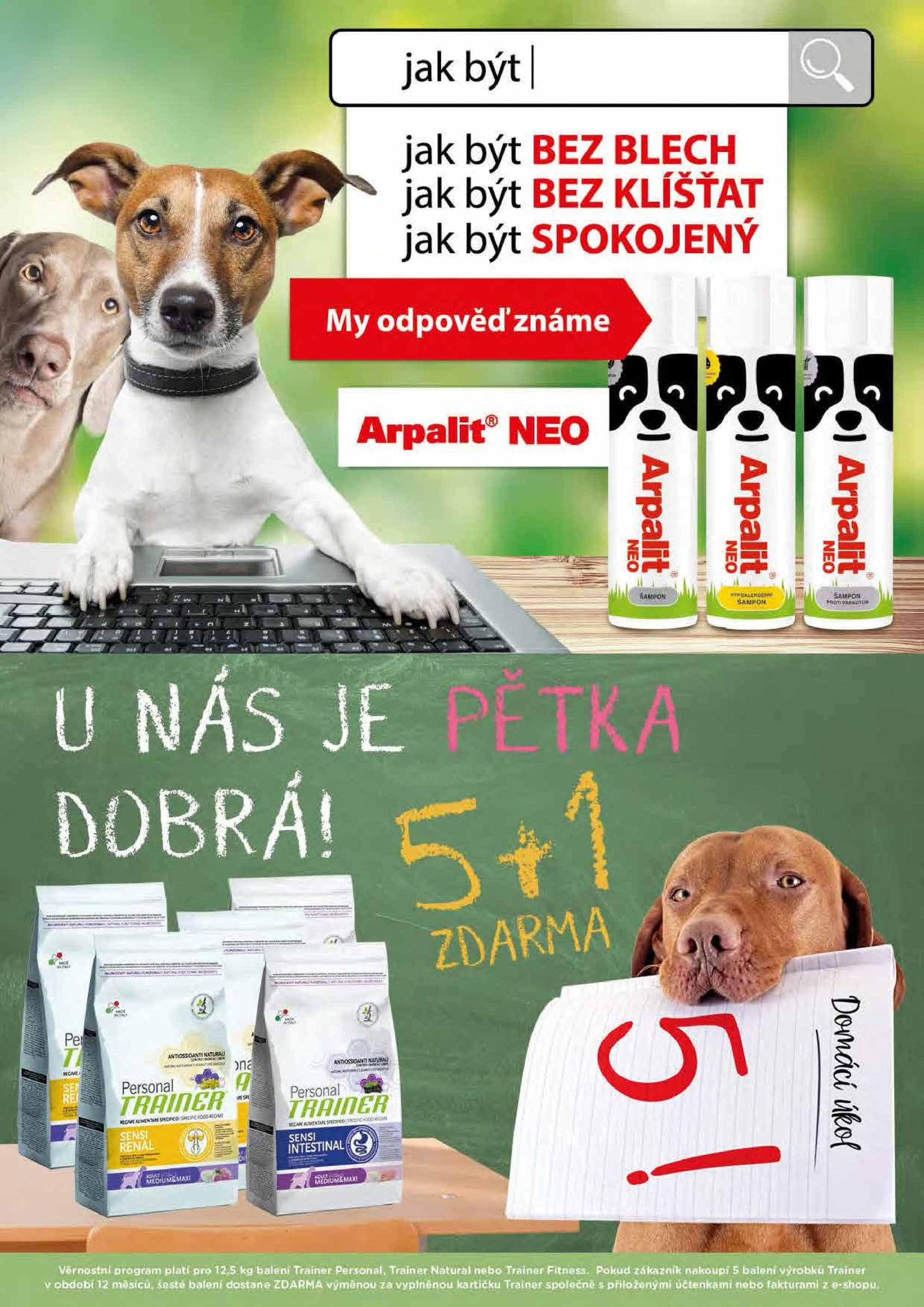 Leták Pet Center - 1. 4. 2019 - 30. 4. 2019. Strana 6.