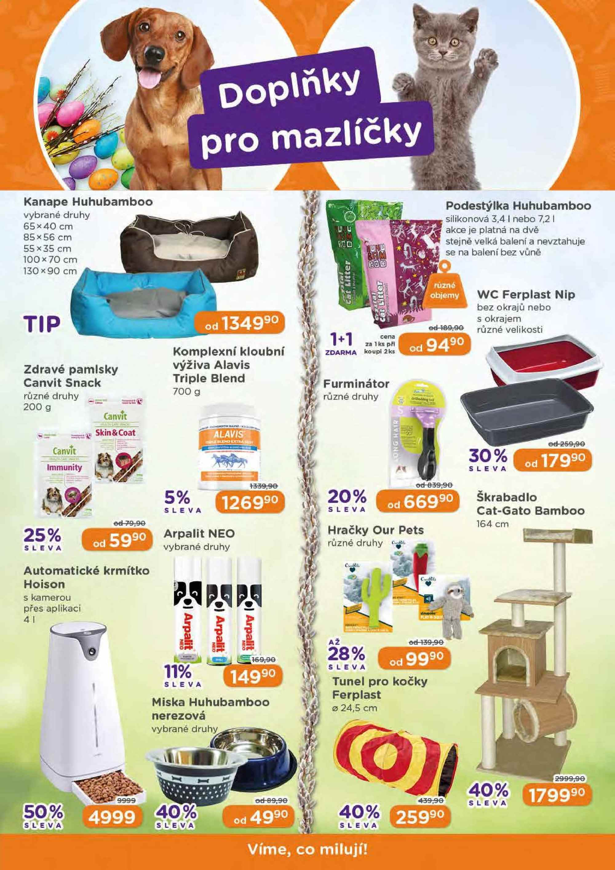 Leták Pet Center - 1. 4. 2019 - 30. 4. 2019. Strana 7.