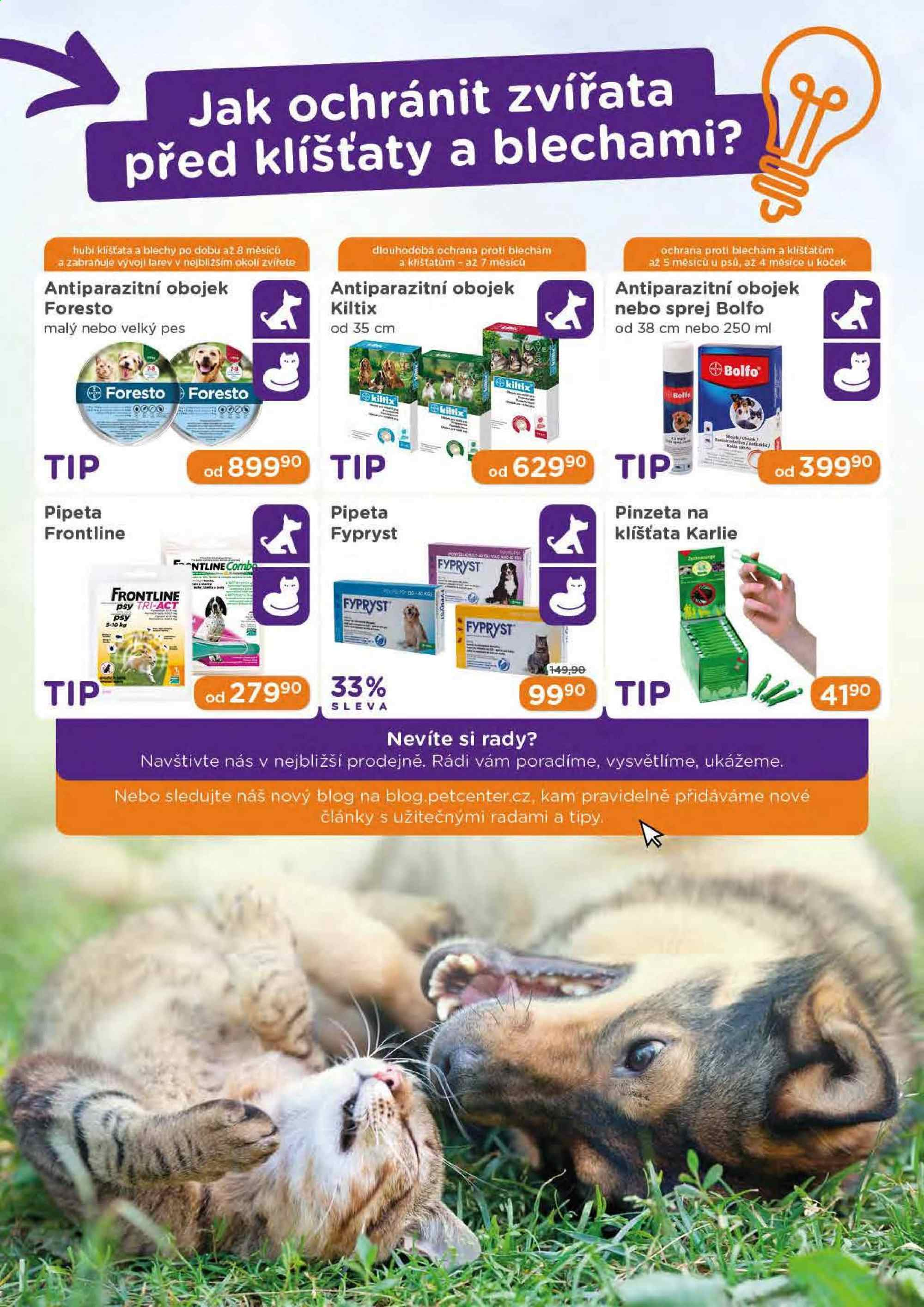 Leták Pet Center - 1. 4. 2019 - 30. 4. 2019. Strana 19.
