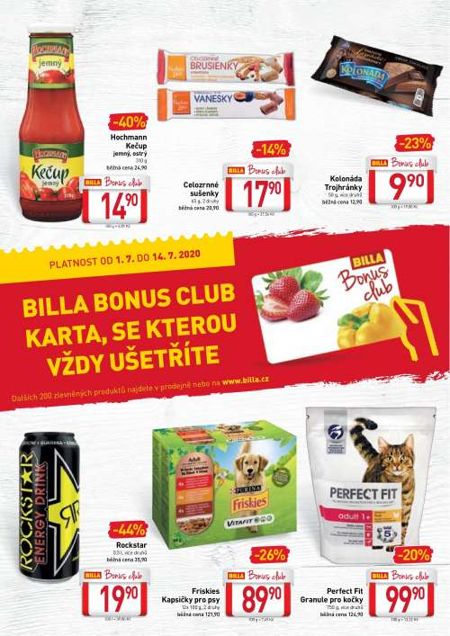 BILLA - Bonus club