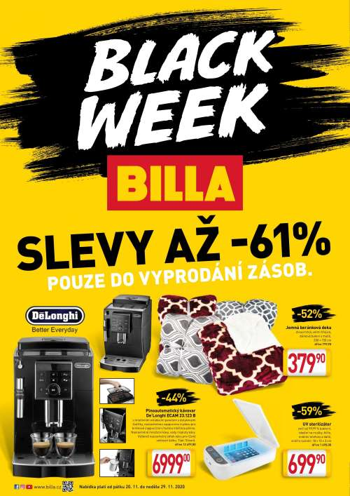 BILLA - Black week