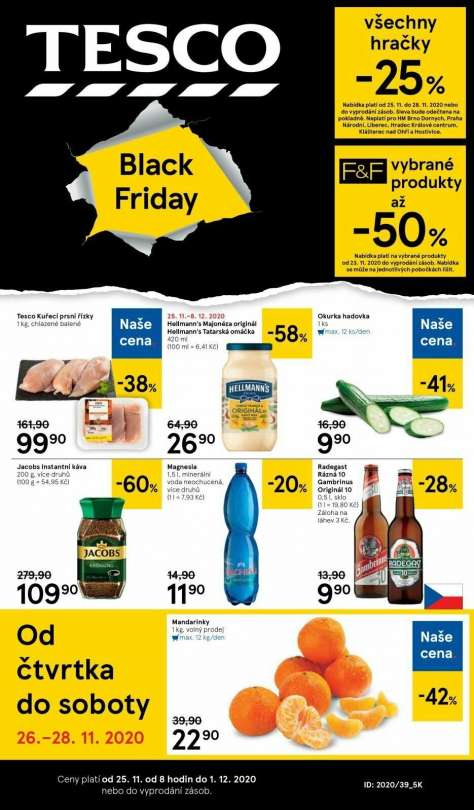 TESCO - Black Friday