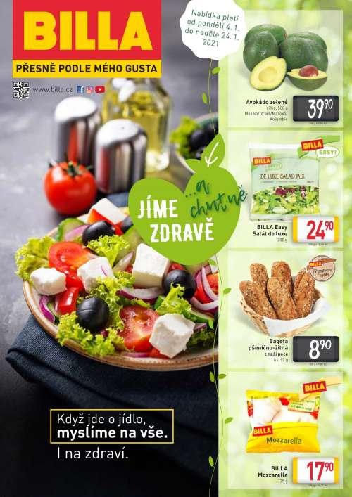 BILLA - Katalog: Jíme zdravě a chutně