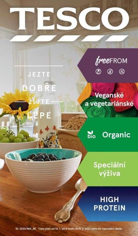 TESCO - Jezte dobře žijte lépe