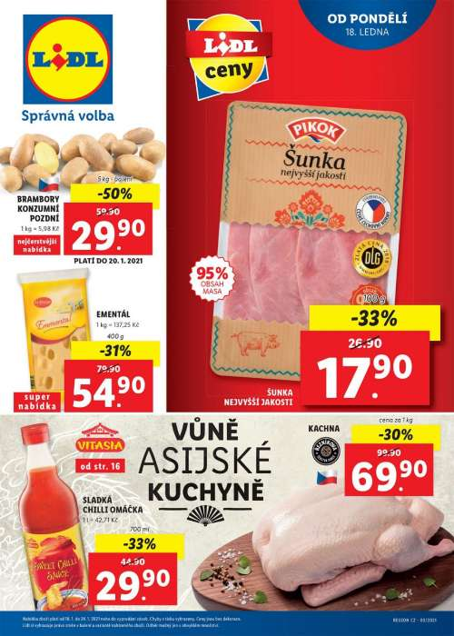 Lidl - Vůně asijské kuchyně