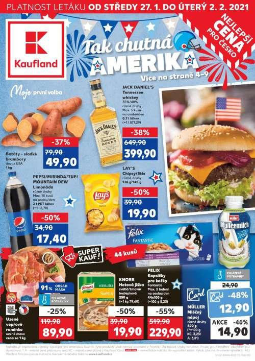 Kaufland - Ta chutná Amerika!