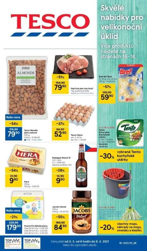 TESCO - Skvělé nabídky pro velikonoční úklid
